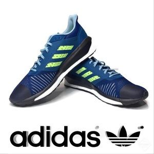 701b660ad615d NWOT adidas SolarDrive ST Running Shoes Blue Sz 12